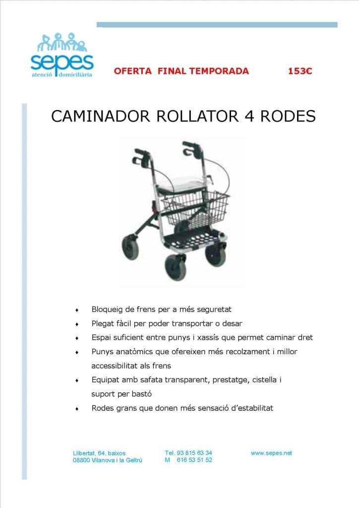 Publicidad Rollator
